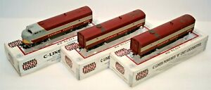 LIFE LIKE PROTO 1000 HO CANADIAN PACIFIC CLC C-LINER TRIO RD #s 4079, 4458, 4471