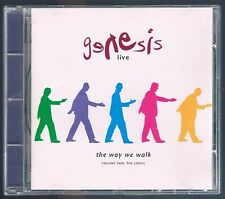 GENESIS THE WAY WE WALK LIVE VOLUME TWO : THE LONGS LIVE ITALY CD F.C.