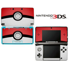 Vinyl Skin Decal Cover for Nintendo 3DS - Pokemon Pokeball
