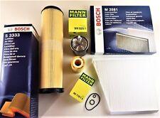 Uomo/BOSCH Filtro Olio Filtro Aria Filtro Polline Filtro Diesel w211 200/220/270cdi