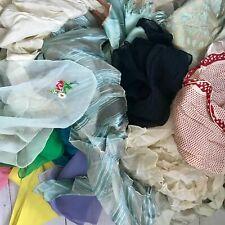 New listing Lot of 18 Vintage Scarves Silk, Nylon, etc.