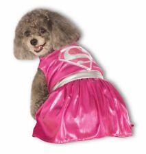 Rubies Supergirl Superman DC Comics Pink Pets Dogs Halloween Costume 887839