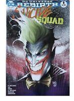 DC Universe Rebirth Suicide Squad 1 Turner Cover