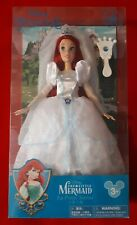 Disney Parks Exclusive La Sirenita Boda Princesa Ariel Muñeca De Moda