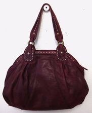 Vintage Lucky Brand Trinity Satchel Brown tumbled lamb leather *EUC*