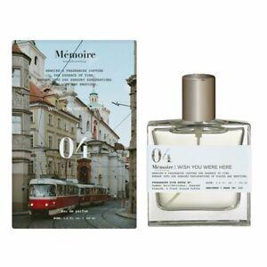 Memoire Archives Wish you were Here 04 3.4 oz Eau De Parfum Perfume NIB