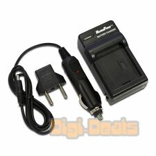 USB + Battery Charger for CANON LP-E5EOS 450D 500D Rebel XSi  Wall + Car Adapter