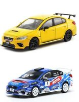 Tarmac Works 1:64 Subaru WRX STi Japan Rally & S207 - 2 Cars Set - Model T64-016