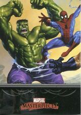 Marvel Masterpieces 2007 Base Card #1 Title Card