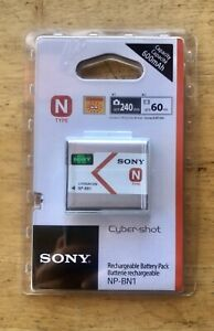 SONY NP-BN1 Rechargeable Digital Camera Battery CyberShot Type N NEW