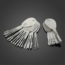 20Psc Foldable Car Lock Double Sided Opener Practice Locksmith Equipment Tool