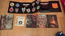 Call of Duty Black Ops 4 Steelbook, Art cards, Badges NO GAME