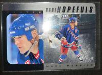 1997 Upper Deck Hart Hopefuls Silver #HH2 Mark Messier 0748/1000 NY Rangers