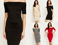 Vestito Donna Vestitino Miniabito Abito WONDERFUL Bodycon SA379 Tg 40 42 44 46