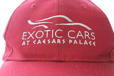 Caesars Palace Exotic Cars Las Vegas Baseball Cap Trucker Biker Hip Hop Snapback