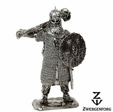 "Tin Toy SOLDIER 54mm VIKING Jarl NORSE Chieftain WARLORD 1/32"" Metal Tin Figure"