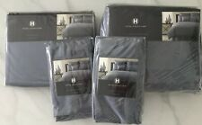 Lot of 4  Hotel Collection Set: Comforter Cover, Bed Skirt, 2 Pillow Shams Queen