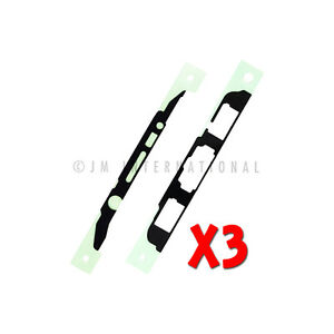 3X Samsung Galaxy Note 5 N920 LCD Pre-Cut Tape Adhesive Sticker Only USA