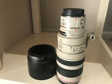canon zoom lens EF 100-400 mm 1:4.5-5.6 L IS ultrasonic  extender EF1.4x