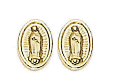 14k Gold  Guadalupe  Earrings Screw Back ON SALE