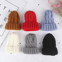 1/6 Dollhouse Miniature Beanie Hat Cap Doll House Decoration Dolls Accessory Fy