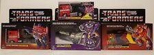 Transformers g1 Walmart Reissue lot Optimus Prime Astrotrain