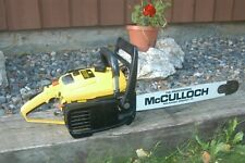 """ChaInsaw MCCULLOCH PRO MAC 700 PROFESSIONAL 20"""" Chain Saw NEVER USED BRAND NEW"""