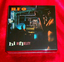 Reo Speedwagon Hi Infidelity JAPAN EMPTY AUTHENTIC DISK UNION STORAGE BOX