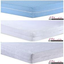100% Cotton Zipped Full Mattress Protector Anti Bed Bug Total Encasement Cover