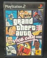 Grand Theft Auto: Vice City PS2 Playstation 2 COMPLETE Game 1 Owner Near Mint