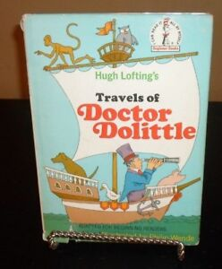 Hugh Loftings Travels of Doctor Dolittle by Al Perkins  Beginner Books 1st. ed.