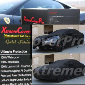 2015 MASERATI GHIBLI Waterproof Car Cover w/Mirror Pockets - Black