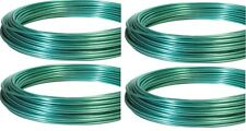 (4) ea Hillman 122100 Dand-O-Line 100' ft Green Coated Clothesline Wire