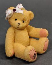 Cherished Teddies ~ 1998 January (Garnet) Little Sparkles Avon Exclusive 516635