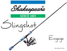 Shakespeare Slingshot Engage Spin Fishing Rod Combo 7' 2pc 4-8kg / 40Z Reel