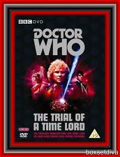 DOCTOR WHO - THE TRIAL OF A TIME LORD (1986) **BRAND NEW  DVD BOXSET**