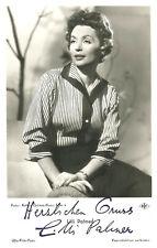 LILLI PALMER original UFA Autogramm Postkarte 50er Jahre Druckautogramm