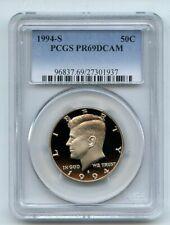 1994 S 50C Kennedy Half Dollar Proof PCGS PR69DCAM