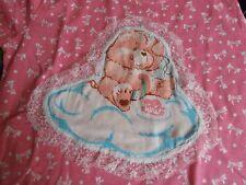 Care Bear Vintage Kawaii Cute Fairy Kei Shirt Pink Bows Cake Cheer Bear Youth L