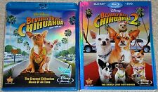 Disney Blu-ray Disc Lot - Beverly Hills Chihuahua 1 & 2 (Used)