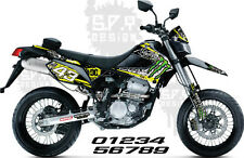 Kawasaki KLX250S & KLX250SF 09-17 Decals Sticker Graphics, Monster 10  (Effex)