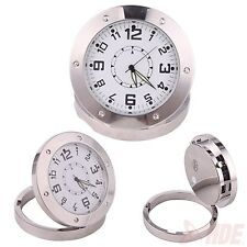 Hidden DV DVR Nanny Cam Desk Clock Pinhole Sound Detection Spy Camera Camcorder