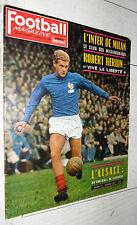 FOOTBALL MAGAZINE N°47 1963 INTER MILAN FRANCE HERBIN ASSE ALSACE RCS LUXEMBOURG