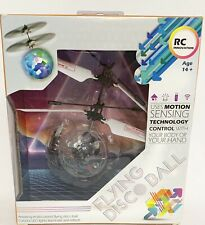 Multi Colored Flying Disco Ball LED Lights Motion Sensing Technology Age 14+