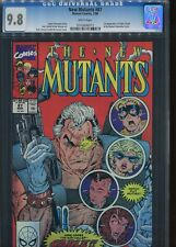 The New Mutants #87 CGC 9.8 1st app of Cable