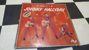 "Johnny Hallyday 33Tours "" Le Disque D'Or De Johnny Hallyday "" vinyle rouge"