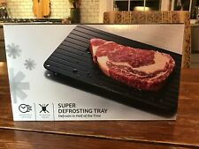 (1) - Neo Super Defrosting Tray - The Safest Way to Defrost Meat or Frozen