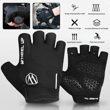 Half Finger Sports Gloves Bicycle Bike Shock Absorption Anti-Slip Cycling Gloves