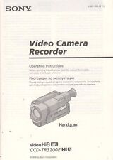 SONY video Hi8 CCD-TR3200E Hi8 Service Manual Anleitung B1728