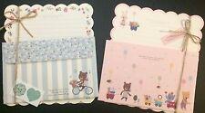 Bear Friends Letter Set - Kawaii Korean Stationery - Cute Artbox writing paper